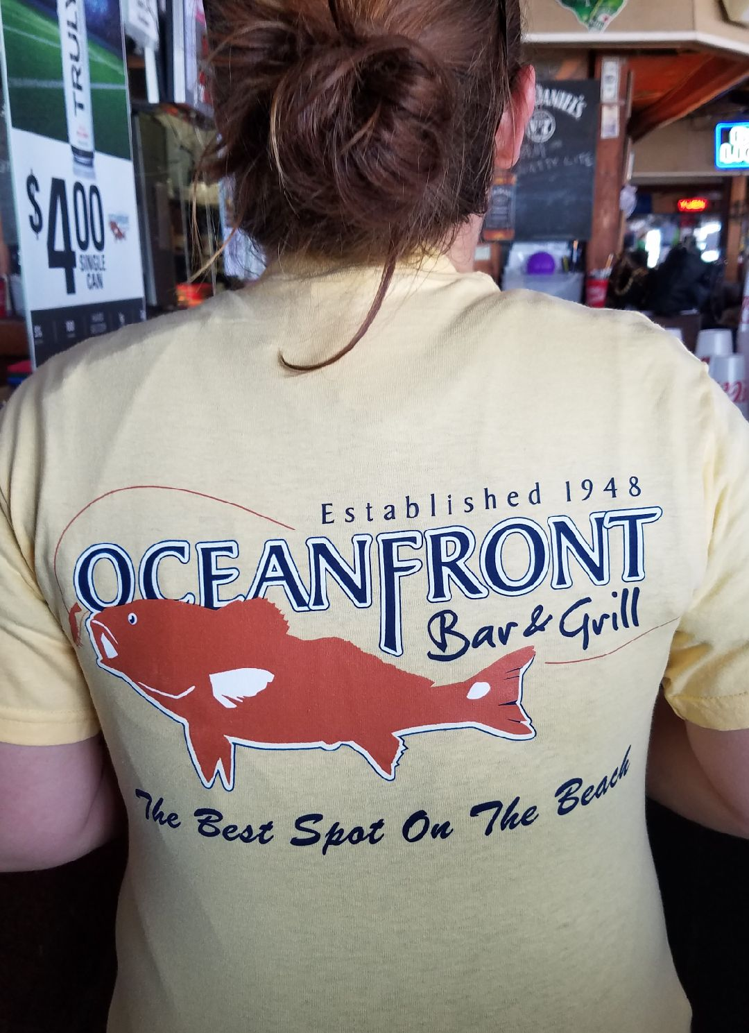 OFBG Signature T-shirt-Yellow-Back