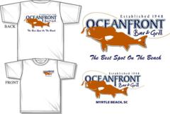 Oceanfront Bar & Grill Signtature T-Shirt
