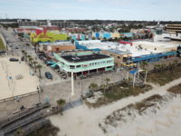 Oceanfront Bar & Grill Arial View