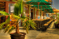 Outdoor Seating at Oceanfront Bar & Grill in Myrtle Beach, SC