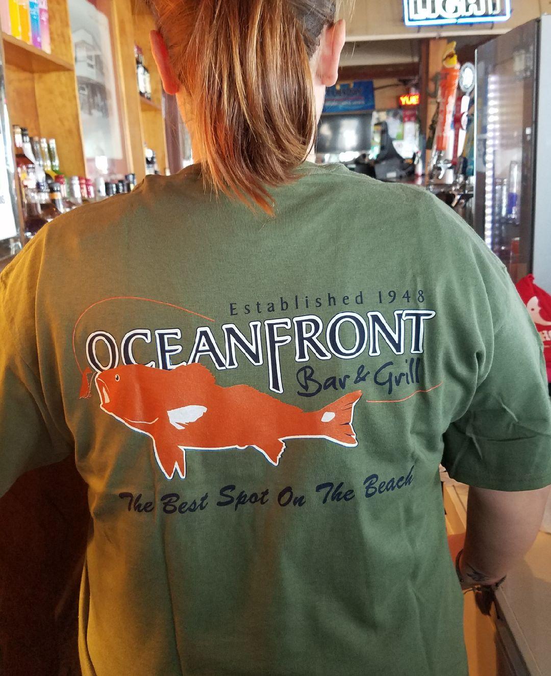 OFBG Signature T-shirt-Green-Back
