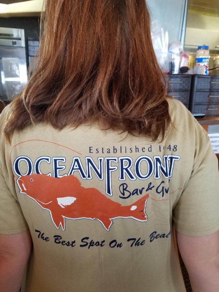 OFBG Signature T-shirt-Khaki-Back
