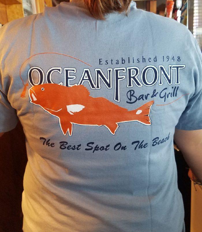 OFBG Signature T-shirt-Light Blue-Back